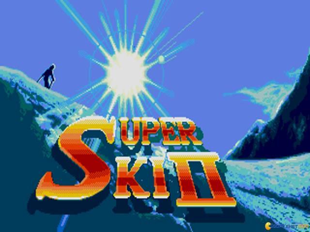 Super Ski 2 - game cover