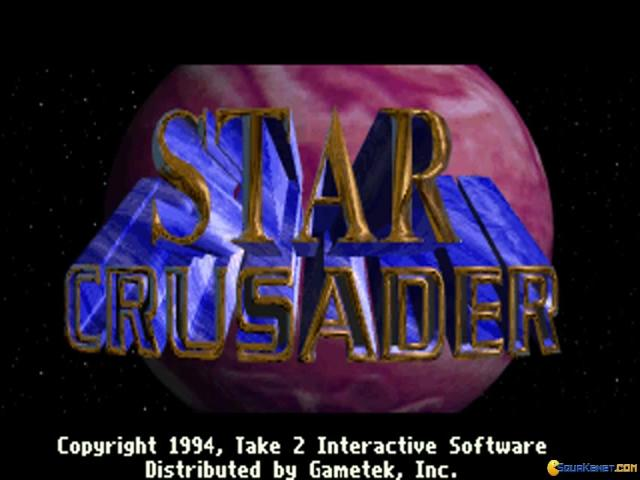 Star Crusader - title cover