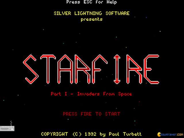 Starfire - title cover