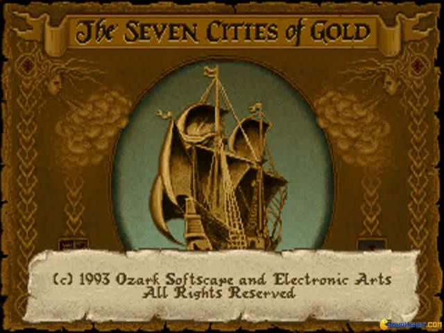 Seven cities of gold commemorative edition - game cover