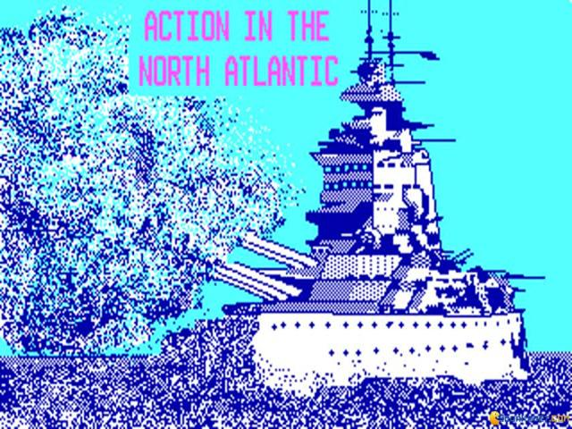 Action in The North Atlantic - title cover