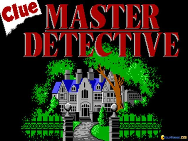 Clue - Master Detective - title cover