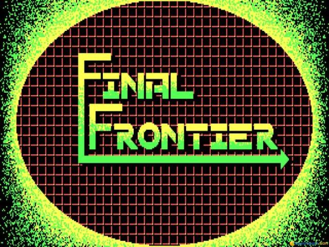 Final Frontier - title cover
