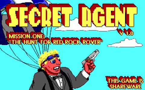 Secret Agent - game cover