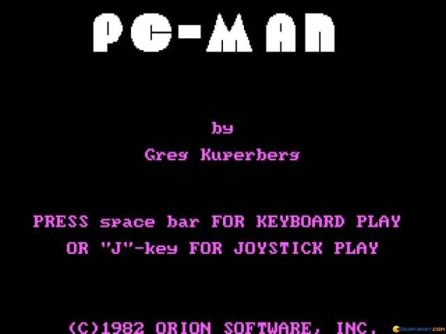 PC Man - title cover