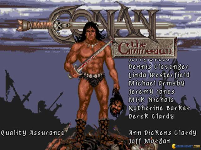 Conan the Cimmerian - title cover