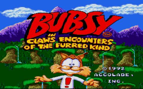 Super Bubsy - title cover