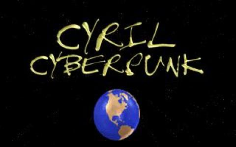 Cyril Cyberpunk - Cyberboard Kid - title cover