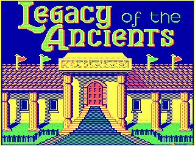 Legacy of The Ancients - title cover
