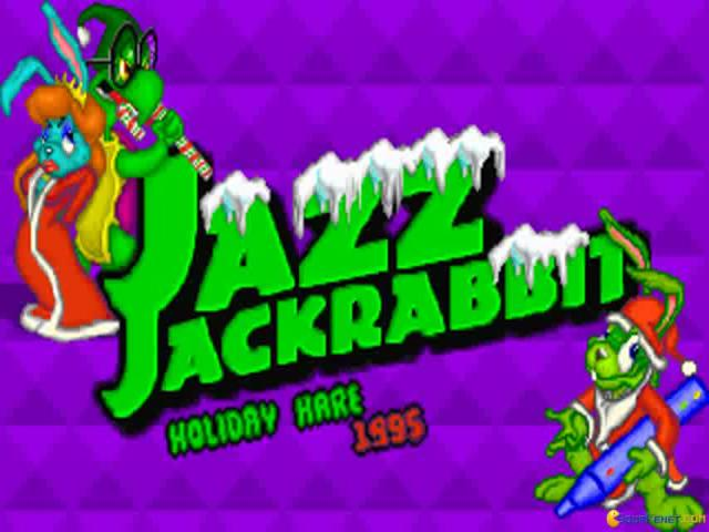 Jazz Jackrabbit: Holiday Hare 1994 - game cover