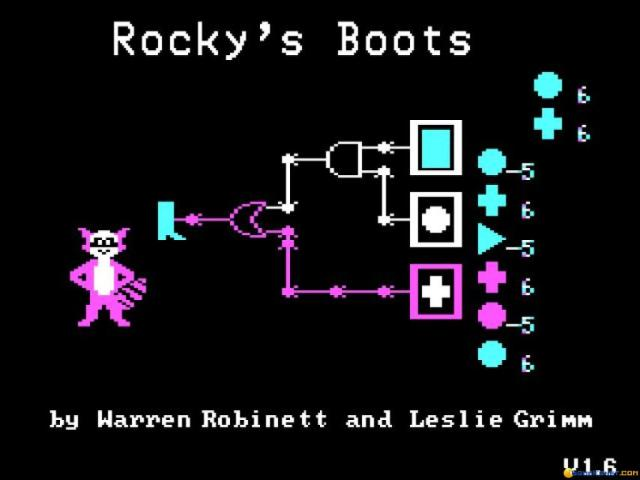 Rocky's Boots - game cover