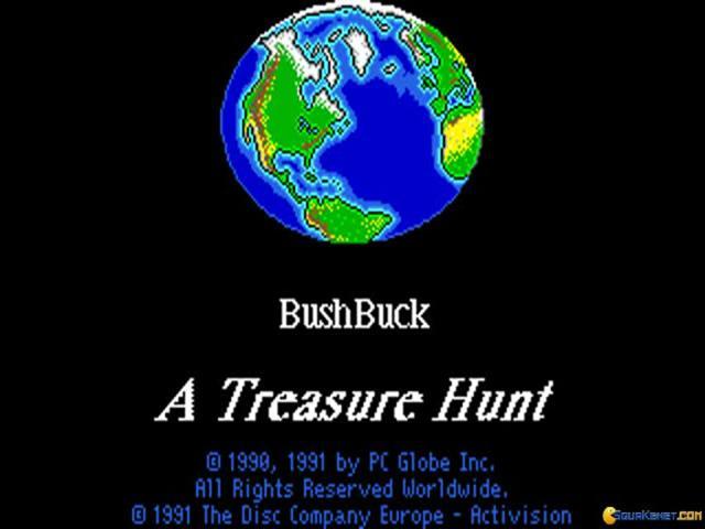 Bushbuck Adventure - title cover