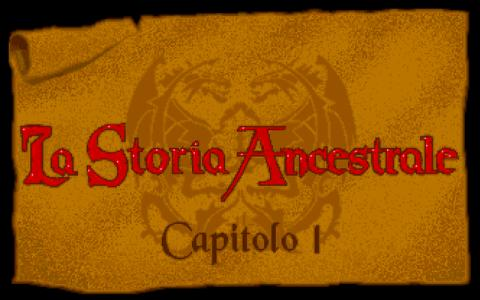 La Storia Ancestrale - title cover