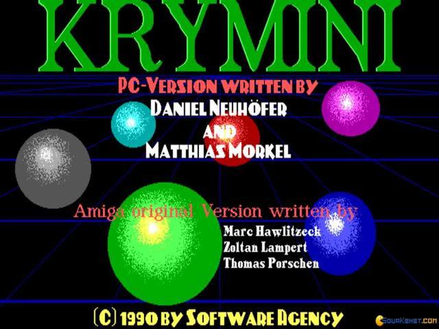 Krymini - title cover