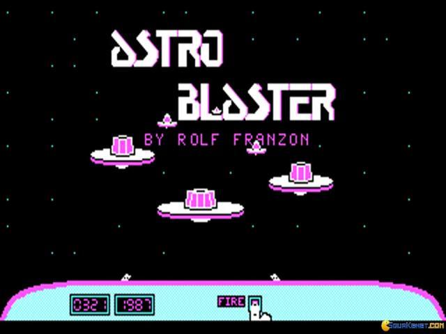 Astro Blaster - title cover