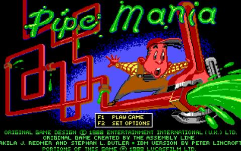 Pipe Dreams - game cover