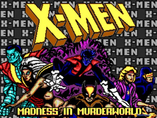 X-Men: Madness in The Murderworld - title cover