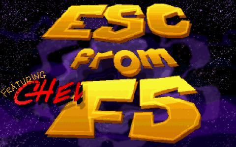 Chewy: ESC from F5 - title cover