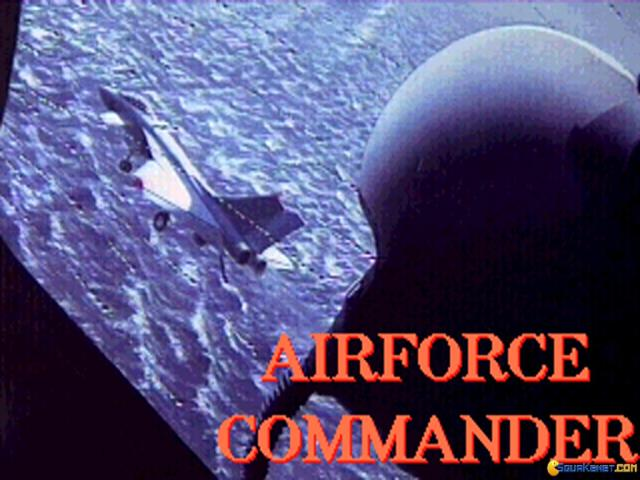 Air Force Commander - title cover