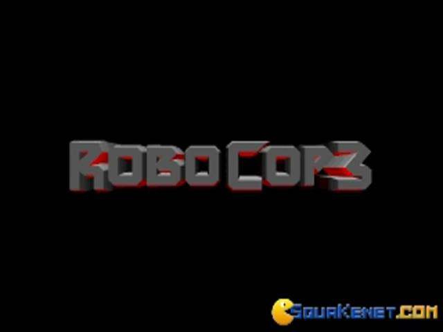 Robocop 3 - game cover