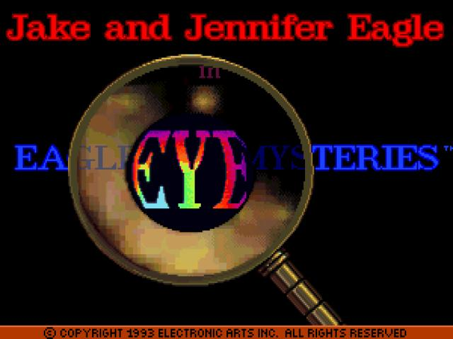 Eagle Eye Mysteries - game cover