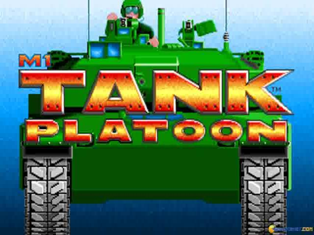 M1 Tank Platoon - game cover