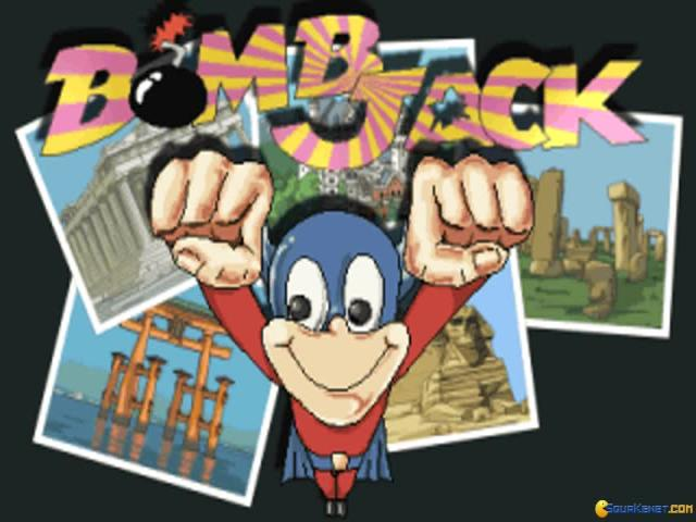Bombjack - game cover
