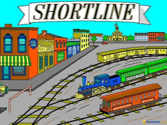 Shortline Railroad - game cover