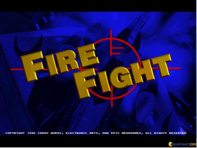 Fire Fight - game cover