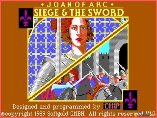Joan of Arc: The Siege And The Sword - game cover