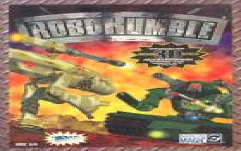 Robo Rumble - game cover