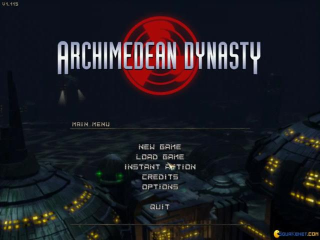 Archimedean Dynasty - game cover