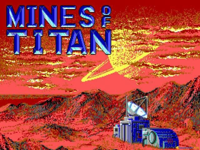 Mines of Titan - title cover