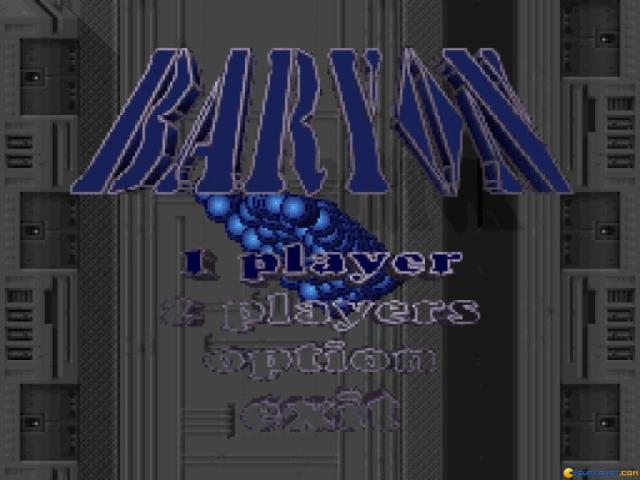 Baryon - game cover