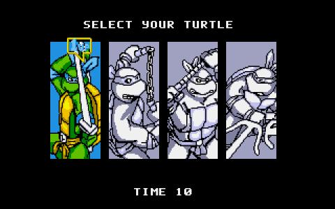 Teenage Mutant Ninja Turtles 2: The Arcade Game - title cover