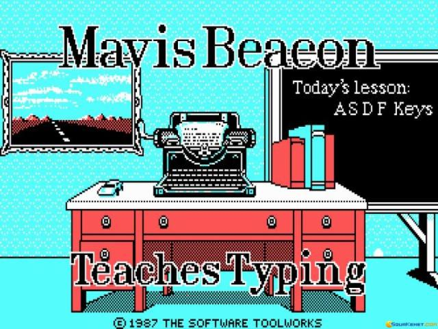 Mavis Beacon Teaches Typing - title cover