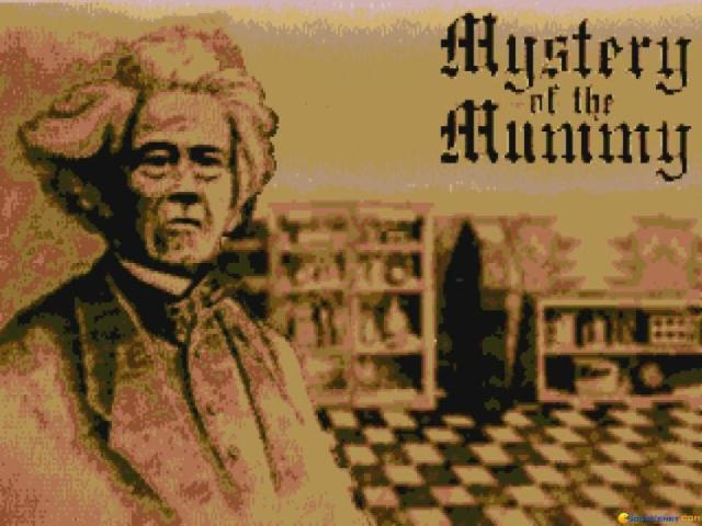 Mystery of the Mummy! - game cover