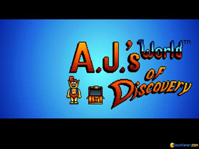 A.J. World of Discovery - game cover
