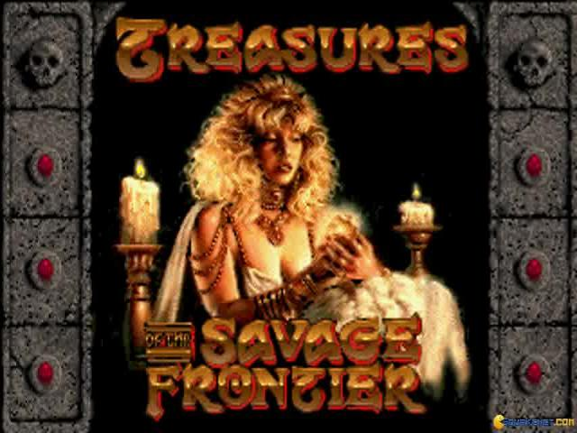 Treasures of the Savage Frontier - title cover
