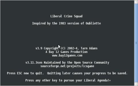 Liberal Crime Squad - title cover