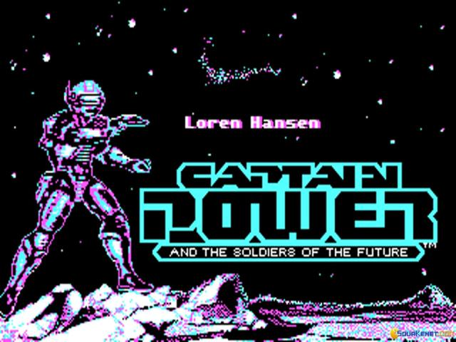 Captain Power and the Soldiers of the Future - title cover