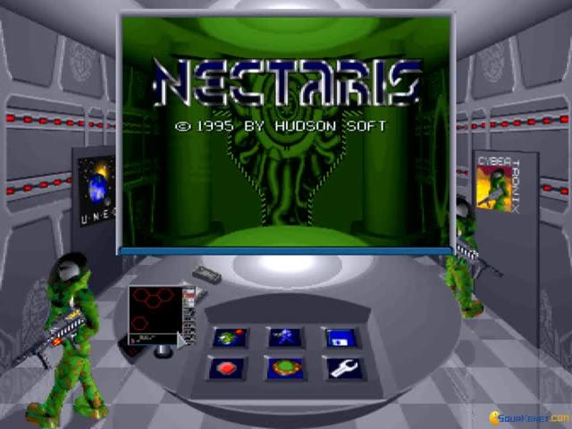 Nectaris - game cover