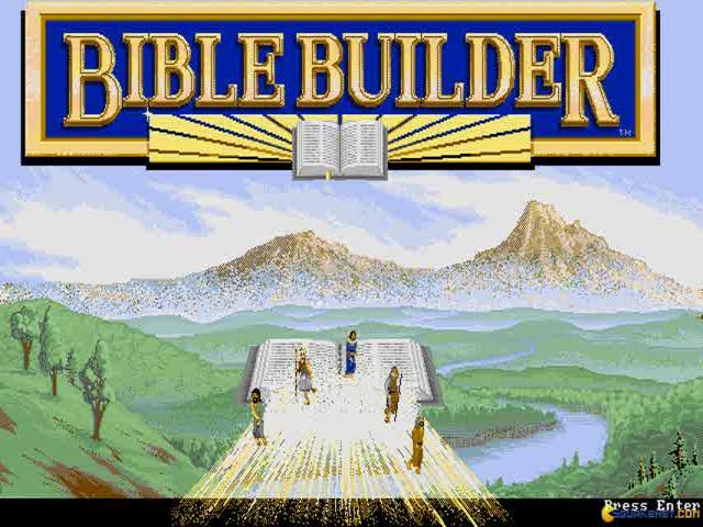 Bible Builder - game cover