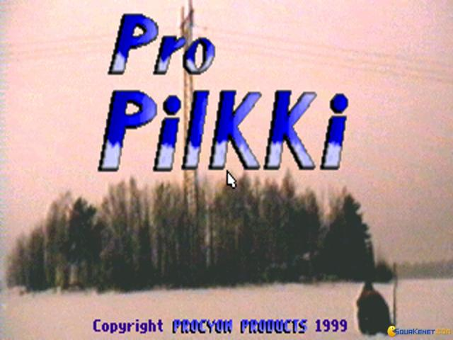 Pro Pilkki - game cover