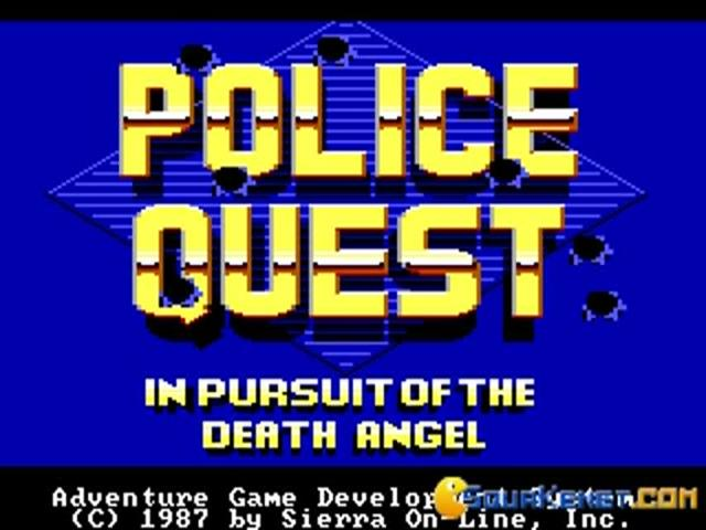 Police Quest - title cover