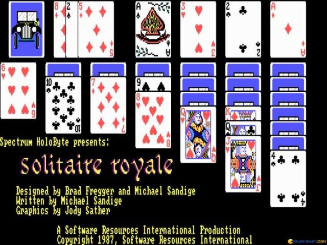 Solitaire Royale - title cover