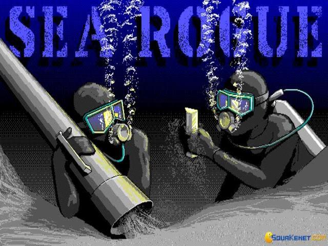 Sea Rogue - title cover