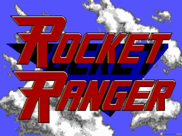 Rocket Ranger - title cover