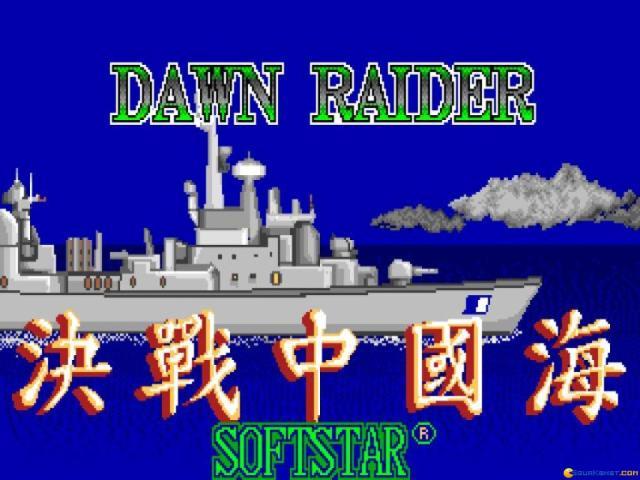 Dawn Raider - title cover