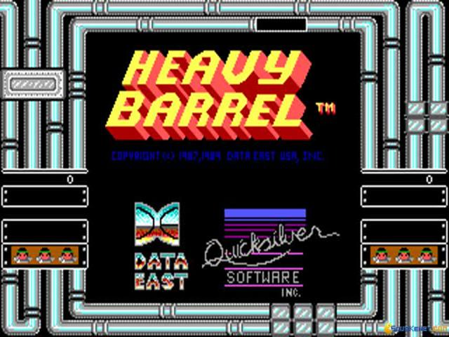 Heavy Barrel - title cover